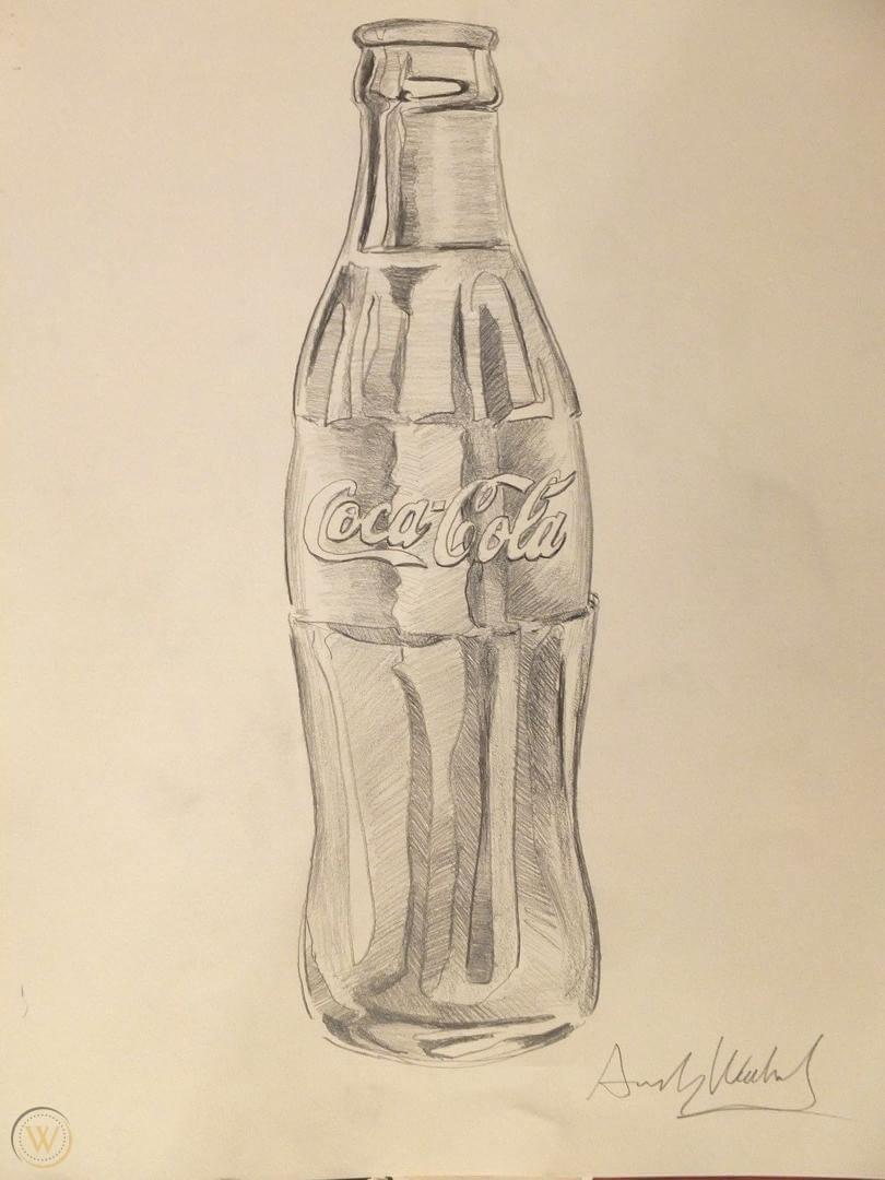 andy-warhol-coke-bottle-large-drawing