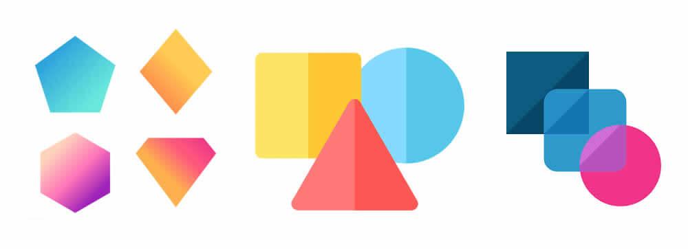 basic shape logos
