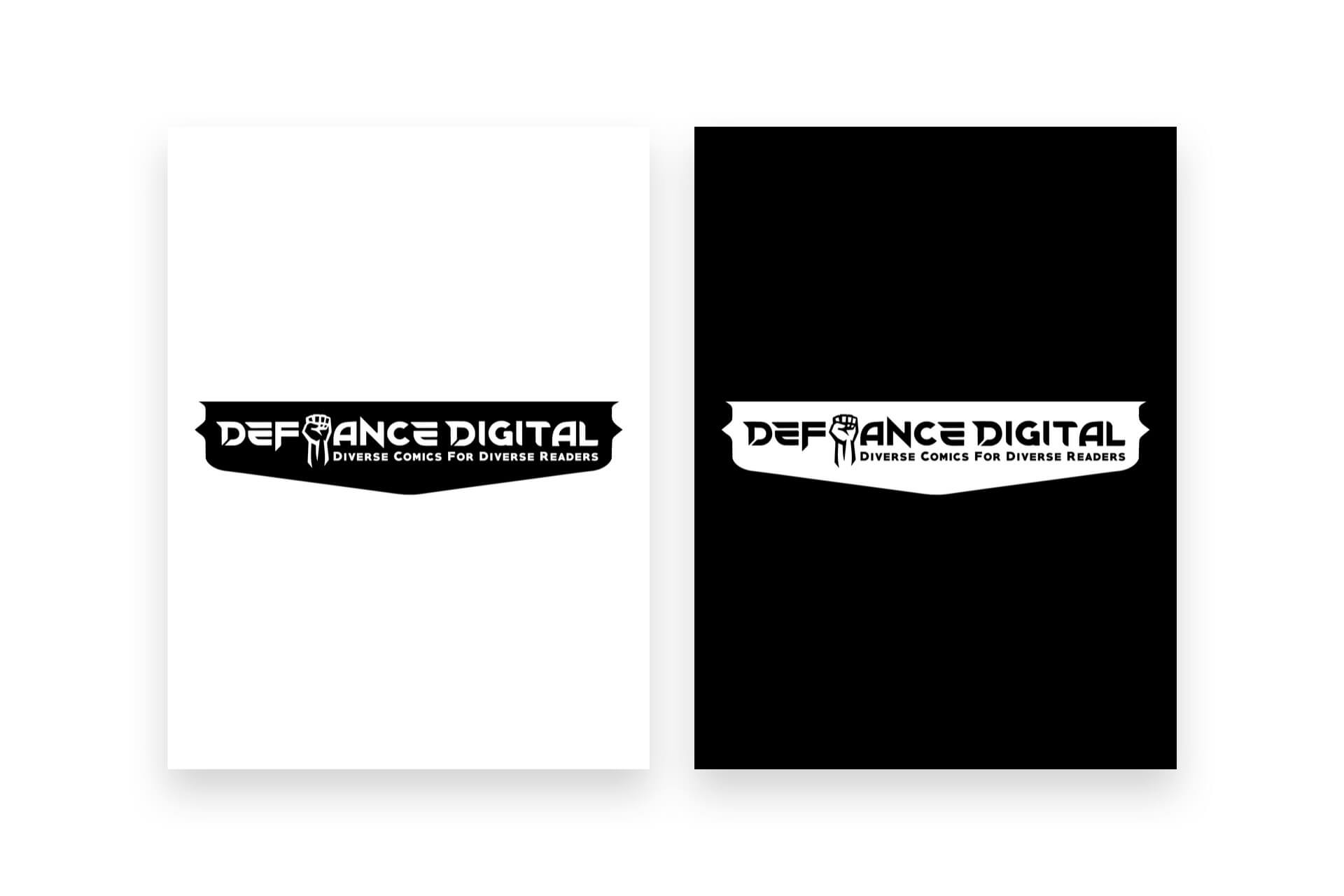 Defiance Digital Studios - Logo Design, Visual Brand Identity Design