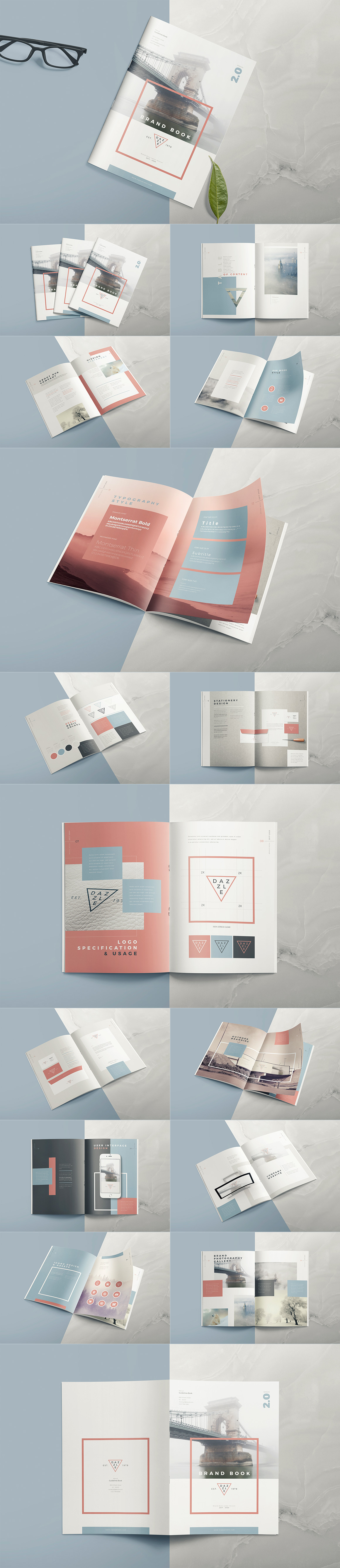 Style Guide & Brand Book Templates-strip16