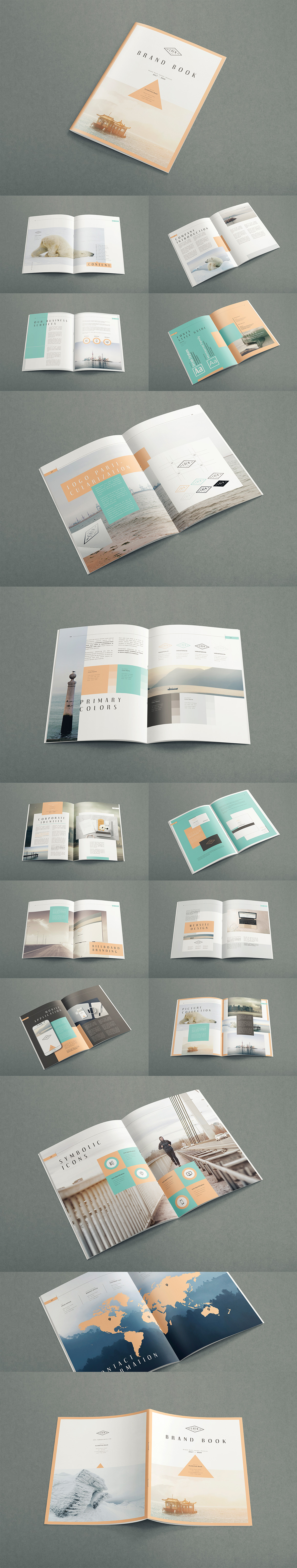 Style Guide & Brand Book Templates-strip17