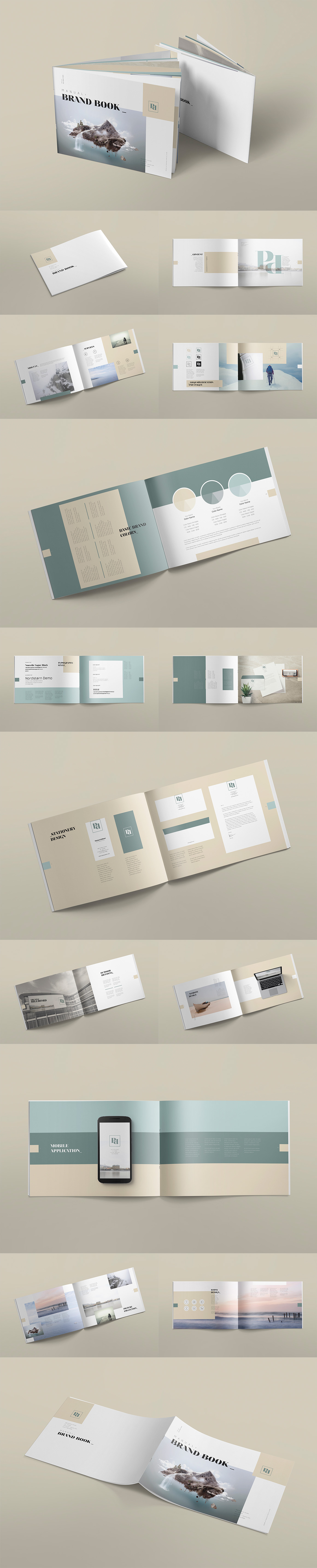 Style Guide & Brand Book Templates-strip18
