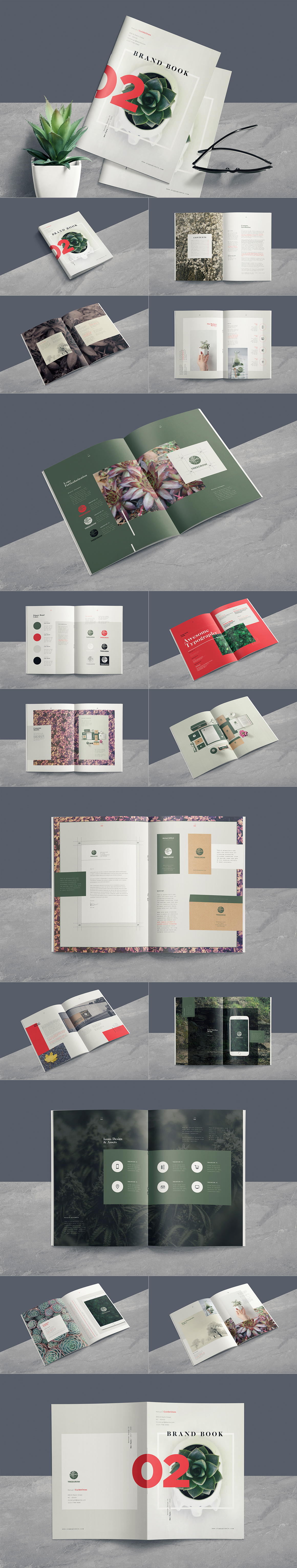 Style Guide & Brand Book Templates-strip19