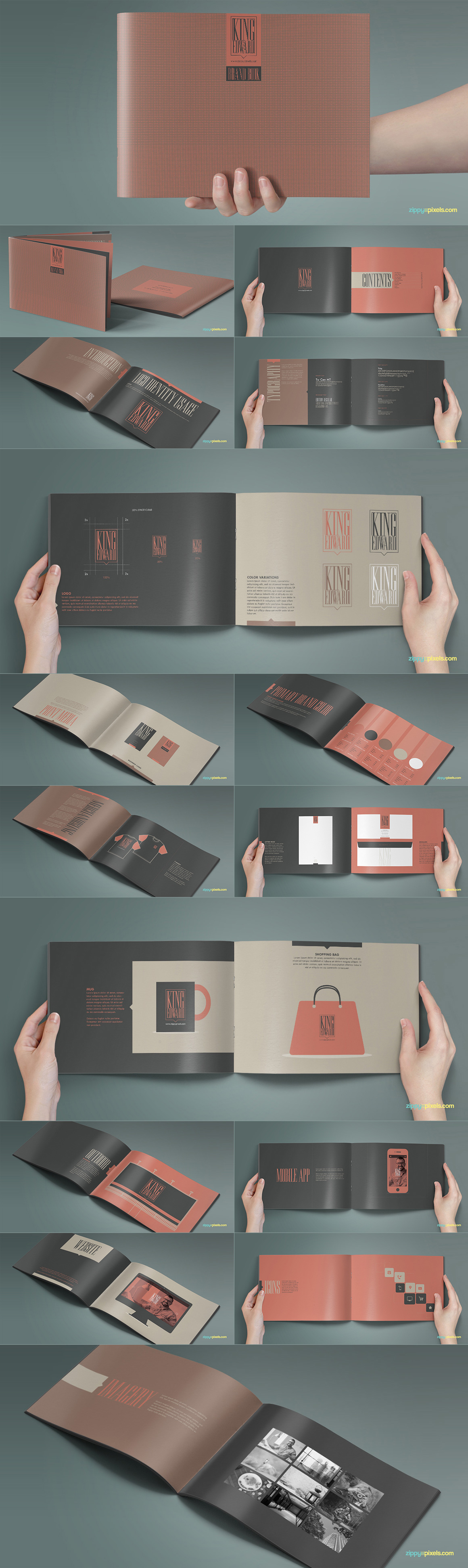 Style Guide & Brand Book Templates-strip2