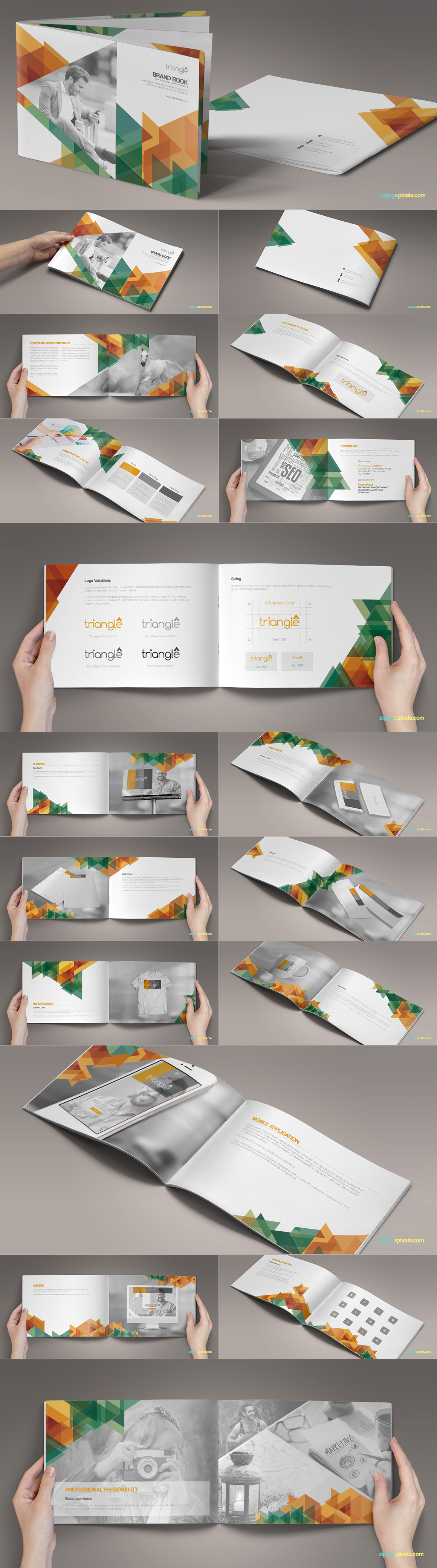 Style Guide & Brand Book Templates-strip9
