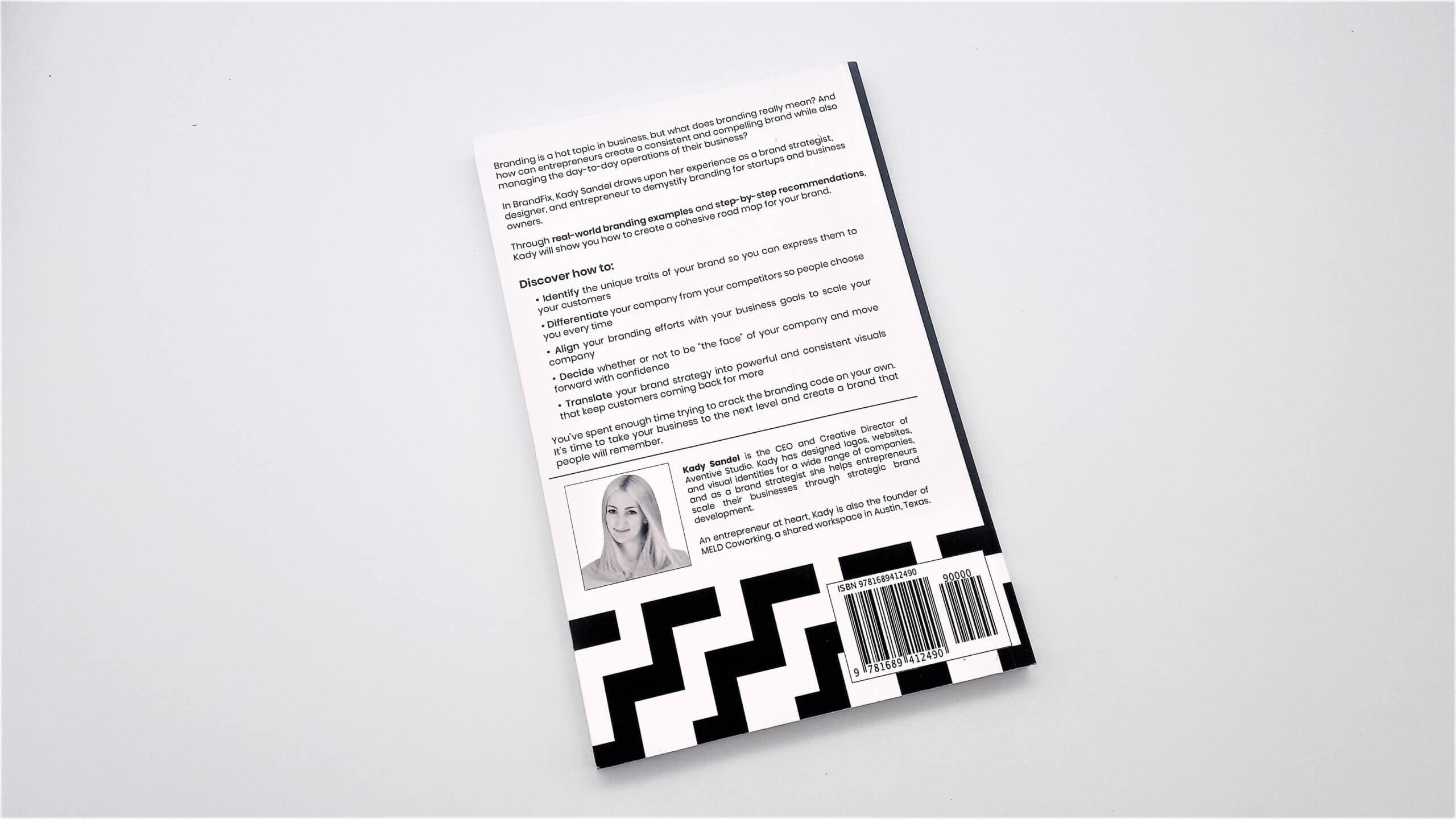 brandFix by Kady Sandel - Book Review 2