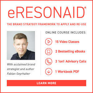eRESONAID - The Brand Strategy Framework - Online Course by Fabien Geyrhalter.