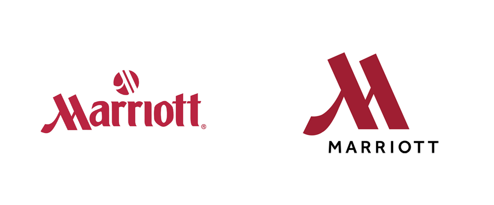 Marriott Hotel Logo Design - Top 10 Best (and worst) Logo Redesigns