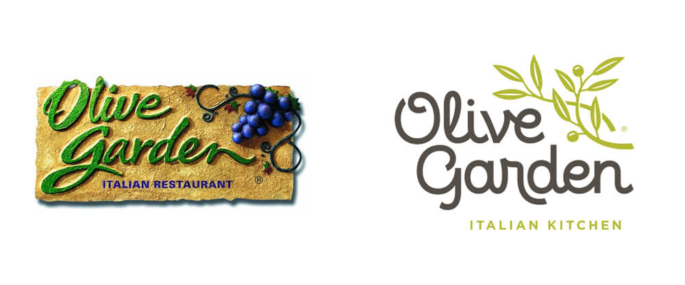 Olive Garden Logo Design - Top 10 Best (and worst) Logo Redesigns