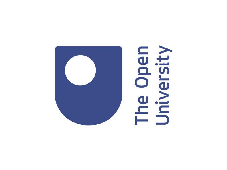 the open university logo design