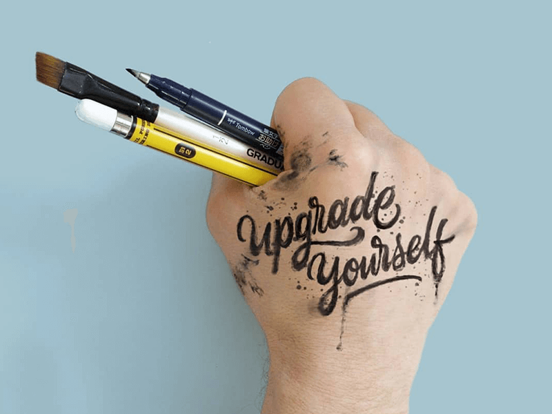 learn hand lettering, typography, letter forms, custom script creation