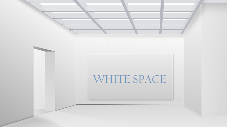 Maria Jones - Graphic Design - Why the Application of White Spaces Is Imperative for Designers